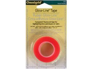 "Omnigrid Glow-Line Tape-1/4""X21 Yards 3/Pkg"