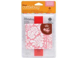 Cuttlebug A2 Embossing Folder/Border Set-Anna Griffin Blossom Dance