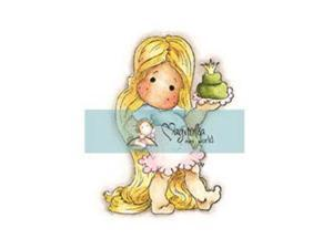 """Mini Once Upon A Time Cling Stamp 2.75""""X5.75"""" Package-Tangel Tilda"""