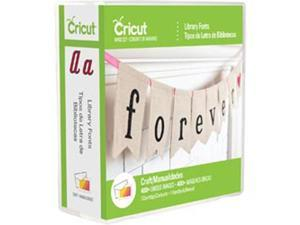 Cricut Font Cartridge-Library