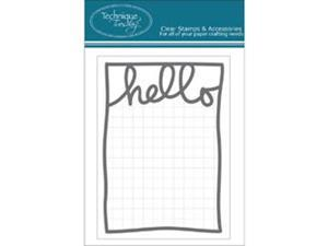 "Technique Tuesday Hello Days Story Cards 3""X4"" 24/Pkg-Gray"