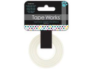 """Tape Works Tape .625""""X50ft-Multi Color Dots"""