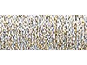 Kreinik Medium Metallic Braid #16 10 Meters (11 Yards)-Vatican Gold