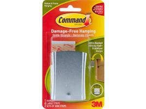 Command Wire Backed Sticky Nail & Strips-1 Hanger