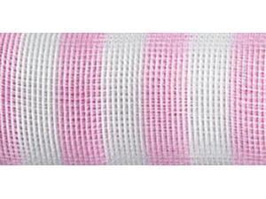 "Mesh Roll 21""X10yd-Pink Stripe"