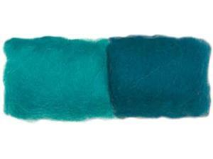 Dimensions 355391 Feltworks Roving .25 Ounces-Turquoise-Teal