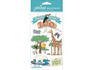 Jolee's Boutique Dimensional Stickers-Zoo