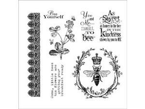 Darcie's Cling Mounted Rubber Stamps-Meant To Bee
