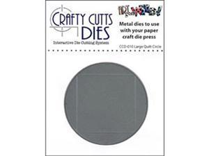 Crafty Cuts Metal Die-Large Quilt Circle