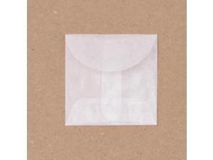 "Glassine Envelopes 2""X2"" 12/Pkg-"