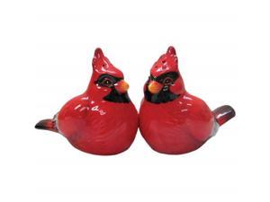 Virginia Bird Cardinal Couple Salt and Pepper Shaker Westland Giftware
