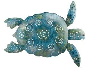 Coastal Living Nautical Big Sea Turtle Metal Wall Decor