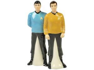 Spock and Captain Kirk Salt and Pepper Shaker Set