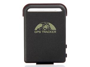 Portable Car GPS Tracker 102 with GSM Alarm Micro SD Card Slot Anti-theft