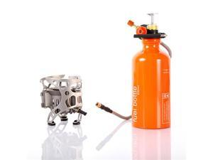 Portable Multi Fuel Outdoor Backpacking Camping Picnic Stove Oil Gas Furnace