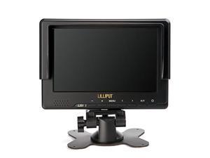 "Lilliput 7"" 667GL-70NP/H/Y LCD Video Camera Monitor with HDMI YPbPr EU Plug"