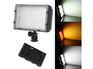 CN-126 LED Video Light for Camera DV Camcorder Lighting 5400K - For Canon Nikon Olympus PANASONIC HITACHI JVC SAMSUNG Hot Shoe Cameras Lights Lamp