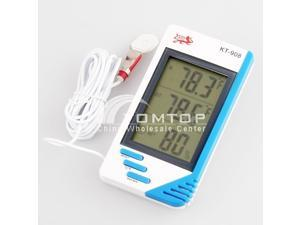 Digitale Temperatur Humidity Tester Thermometer  Hygrometer 3 in 1 Digital-Thermometer Hygrometer und Uhr