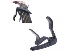 Black Quick Change Clamp Key Capo For Electric Guitar