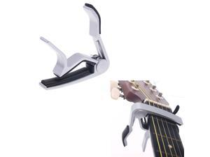 Sliver Quick Change Clamp Key Capo For Electric Guitar