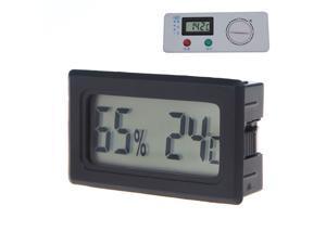 Mini Digital LCD Thermometer Hygrometer Humidity Temperature Meter Indoor