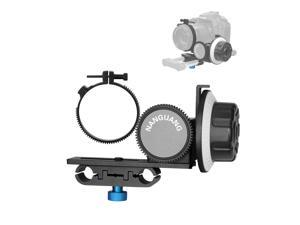 Nanguang Follow-focus CN-90F with Gear Ring Belt for Canon Nikon DSLR Cameras Camcorders