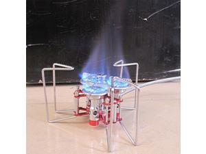 BL100-B6-A Portable Stove Three Burners Camping Split Gas Stove Outdoor Furnace Foldable Strong Stander Butane 5800W