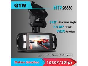 "Novatek96650 Portable 2.7"" Car DVR Camera 1080P FHD H.264 G-sensor WDR Recorder Camcorder 140 Wide Angle G1W"