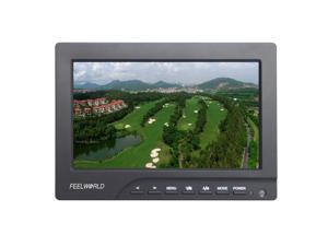"""FEELWORLD FW689-HD-F970 7"""" On Camera Field Monitor 1080P HDMI for Canon Nilkon DSLR Camera"""
