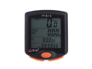 BoGeer YT-813 Imported Sensors LCD Backlit Bicycle Speedometer Odometer Bike Computer Rainproof