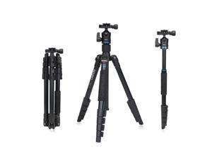 Benro IT15 Portable Aluminum Alloy Travel Tripod Kit with Ball Head Monopod for Canon Nikon Pentax Camera & DV