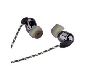 In-ear Piston Ceramic Binaural Stereo Earphone Headset with Microphone Answer Phone Earbud Ear Hook Listening Music Waterproof IPX5 for iPhone HTC Smartphone MP3