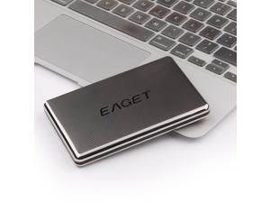 EAGET G50 USB3.0 Stainless Steel High Speed External Hard Drives Portable Encryption 1TB