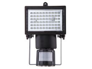 60 LEDs PIR Human Body Motion & Light Sensor Solar Powered Panel Security Lamp Floodlight House Home Garage Yard Pool Pond Shed