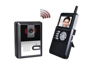 "2.4"" LCD 2.4GHz Wireless Handset Doorbell Intercom System Video Record 4G SD Card"
