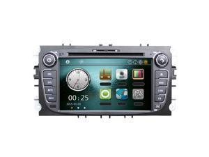"""7"""" Car DVD Player GPS Navigation in Dash Car Radio Double 2 Din Car PC Stereo Head Unit for Ford Focus Mondeo S-max Galaxy Kuga +Free Map +Free Card"""