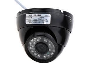 1000TVL Wide Angle Metal Dome Outdoor CMOS CCTV Security Camera
