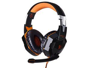 Headphone Game Headset EACH G2000 Over-ear Game Gaming Headphone Headset Earphone Headband with Mic Stereo Bass LED Light for PC Game