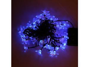 50 LED Solar Christmas String Light Outdoor Fairy Flower Blossom Decoration Xmas Wedding Party Garden Lights