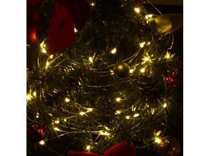 10m 100-LED String Light Lamp Decoration Lighting for Christmas Party Wedding 12V Warm White