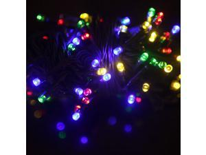 200 LED Solar String Lights Christmas Party Outdoor Garden Decorations Fairy Color Flashing/Constant Mode