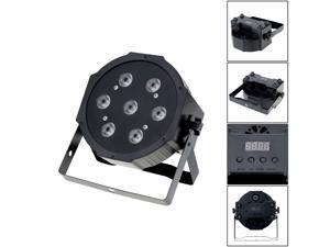 DMX-512 4 In 1 RGBW LED Stage PAR Light Lighting Strobe Professional 5/8 Channel Party Disco Show 70W AC 100-240V Sound Active