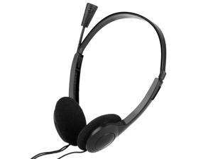 OVLENG OV-L900MV 3.5mm Stereo Headset Earphone Headphone with Microphone Mic Adjustable Headband for Computer Laptop Desktop