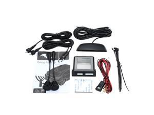 Steelmate Ebat PTS2C2 Parking Assist System 2 Sensors Parking Sensor Reverse Radar Alert System with LED Display