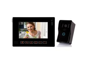"9"" Video Door Phone Touch Key IR Night Vision Video Record Rainproof with 2G SD Card"