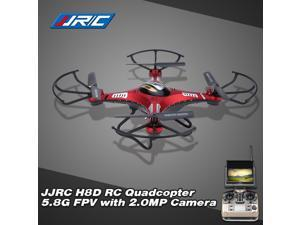 Original JJRC H8D 5.8G FPV RTF RC Quadcopter Headless Mode/One Key Return Drone with 2.0MP Camera FPV Monitor LCD