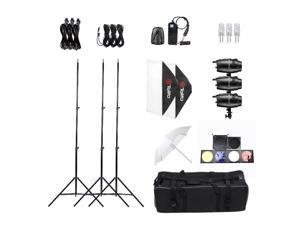 Tolifo Professional Photography Photo Studio Speedlite Lighting Lamp Kit Set