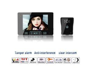 "Magical Wireless Video Door Phone Intercom Doorbell Home Security One camera & One 7.0"" Screen Monitor"