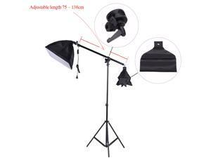 Photo Studio Overhead Boom Arm Top Light Stand 75-138cm