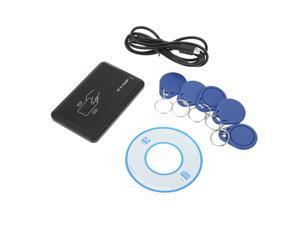 Contactless 14443A Card Encoder IC Card Reader Writer with 5pcs Cards 5pcs Key Fob USB Interface 13.56MHZ RFID